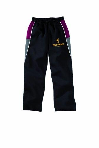 Browning, Pantaloni Tuta, Multicolore (grau-schwarz-rot), XL