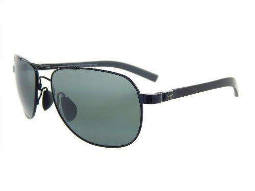 Maui Jim Guardrails 327-02 Gloss Black/ Neutral Grey 58mm Polarized Sunglasses by Maui Jim