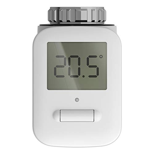 SmartHome Telekom Heizkörperthermostat mit LCD Display - weiß