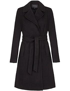 Anastasia - Abrigo de invierno con cinturón de mujer