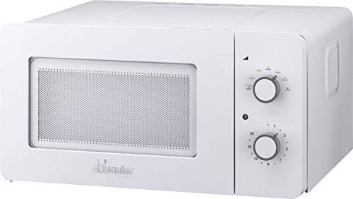 bkitchen mini 150 blanco microondas 600W, 15l, mesa giratoria de vidrio (Ø...