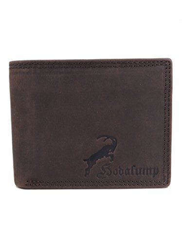 e6b06806919e1 Hodalump - Echt-Leder Geldbörse - für Herren und Damen mit Geschenkbox -  Premium Geldbeutel