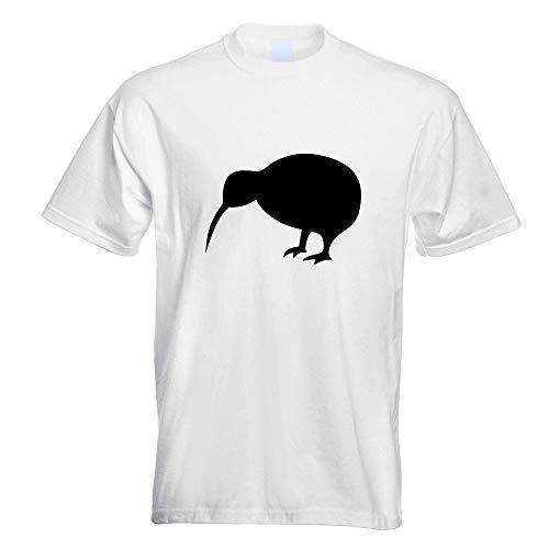Kiwi Vogel Kostüm - Kiwi/Neuseeland T-Shirt Motiv Bedruckt Funshirt Design