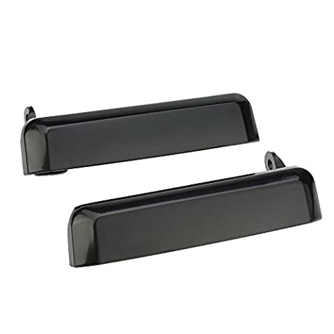 KKMOON 2 Pack Exterior Outside Door Handle Replacements, Front Left & Front Right / Passenger & Driver Outer Handle for D21 Hardbody Pickup,Pathfinder