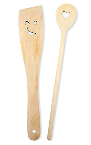 Cucchiaio da cucina Set | Cucchiaio & spatola da cucina | Cuore ...