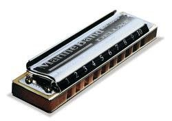 Hohner Marine Band Deluxe C Mundharmonika (Hohner Marine Band Mundharmonika)