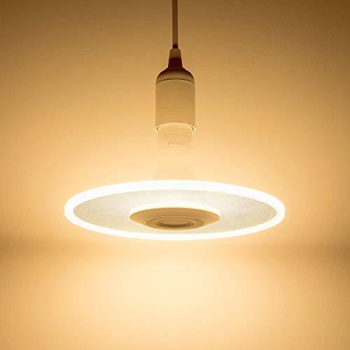 Sternwolk LED Lampe, Linkind 11W Pendelleuchte, 1100lm warmweiß Hängende Beleuchtung, Deckenleuchte mit E27 Fassung, ideal für Küche, Esszimmer, Wohnzimmer, Schlafzimmer, Laden.