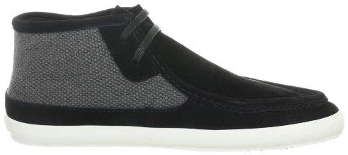 Vans Baskets de Norme Mid pour homme Black - Schwarz (black/turtledove)