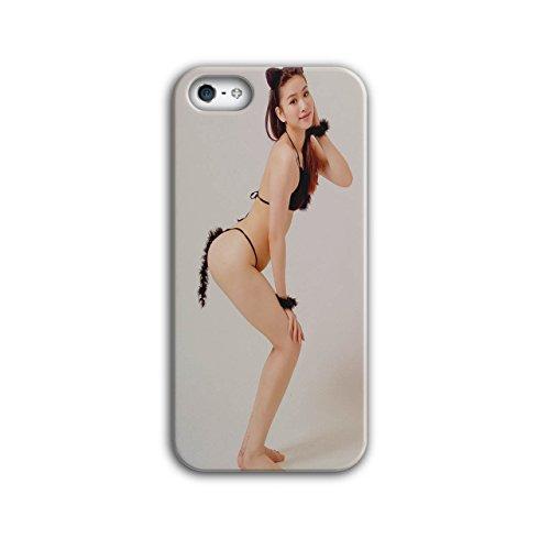Cosplay Heiß Mädchen Sexy Frau Im Kostüm iPhone 5 / 5S Hülle | (Kostüm Hawaii Für Männer National)