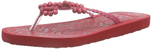 ESPRITAlice Beads - Infradito Donna , Rosso (Rot (630 red)), 40
