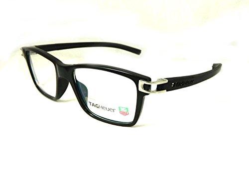 Preisvergleich Produktbild Tag Heuer Gläser Frames Brille TH 7603 010 schwarz silber