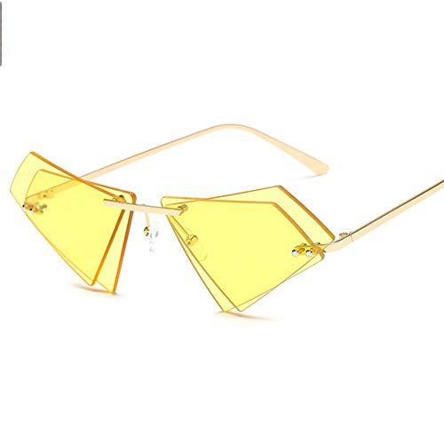 Sonnenbrillen Für Frauen, UV Augenschutz, Uv400, Metall Rand Rahmen, Anti-Reflexion, for Damen Reflektierenden Spiegel, A