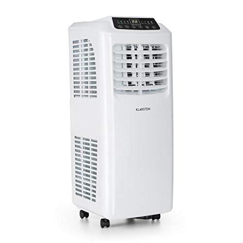 Klarstein Pure Blizzard 3 2G • Fresh Edition • Climatizzatore • Condizionatore Portatile • Ventilatore • Deumidificatore • 7000 BTU/h • Bassa Rumorosità • Serbatorio da 19,2 Litri • Bianco