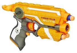 NERF 53378E35, Nerf N-Strike Elite Firestrike orange