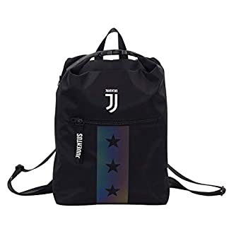 Seven Juventus Multy Backpack Mochila Tipo Casual, 39 cm, Negro (899)
