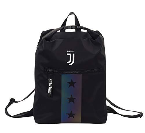 Zaino Juventus Multy Backpack, Nero, 19 Lt, Flash Effect, Scuola Sport & Tempo libero