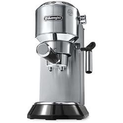 De'Longhi EC 680.M Dedica Macchina Caffè Espresso con Pompa, Thermoblock, Metal