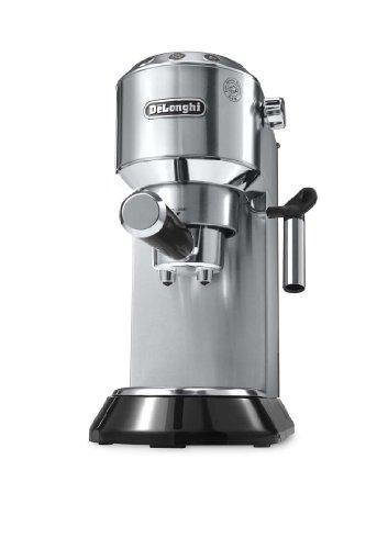 DeLonghi EC.680.M Dedica Coffee Machine with 15 Bar Espresso Pump - Metal