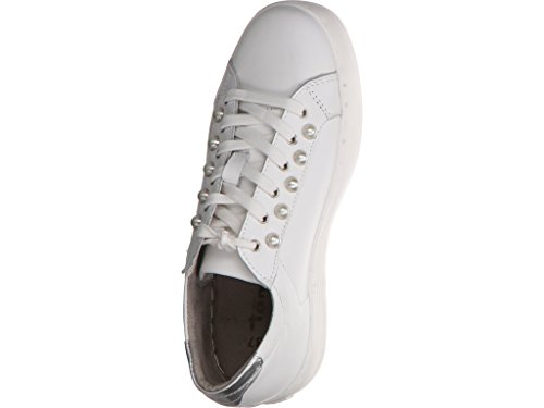 Tamaris 23770, Scarpe da Ginnastica Basse Donna White Leather