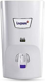 Livpure Glo 7 litres RO+UV+ Mineralizer water purifier, White