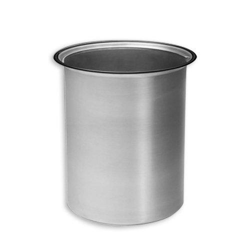 Ersatzeimer 5 L aus Aluminium für den DASSA 4 Abfallbehälter / Alueimer / Alueinsatz / Alu-Einsatz