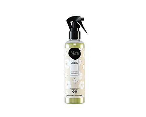 profumatore deodorante per auto e ambienti spray 250ml fragranza Cotton Flower talcat