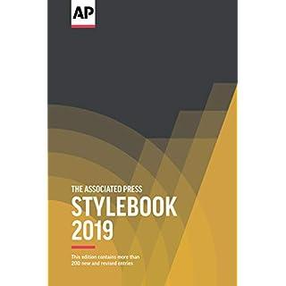 The Associated Press Stylebook 2019