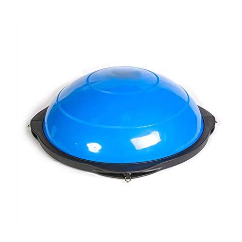 YDXYZ Yoga-Hemisphäre Fitness Balance Pilates Yoga-Hemisphäre Rutschfester Praxistrainer Doppelseitige Gleitmassage Balance-Gymnastikball (Color : Blue)