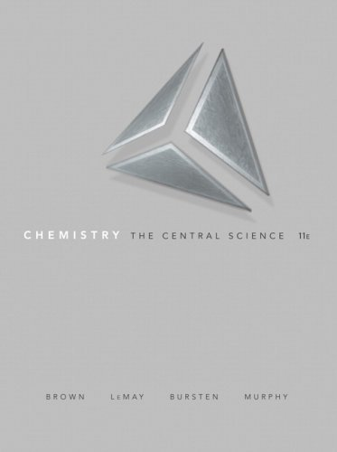 Chemistry: The Central Science (11th Edition) by Brown, Theodore E. Published by Prentice Hall 11th (eleventh) edition (2008) Hardcover