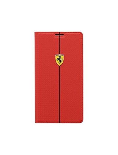 Ferrari fefocbbs5re Folio Schutzhülle für Samsung Galaxy S5rot