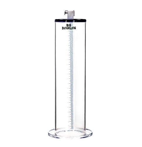 BIG DINGELING Maximizer Tube, Zylinder für Penispumpe, maximale Saugkraft, Länge 23cm, verschiedene Durchmesser (57mm)