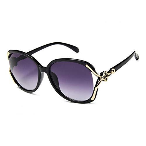 Frauen übergroßes Polarized - Elegant Großes Feld Sunglases - Vierblättriges Kleeblatt Fahren Sonnenbrille