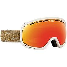 Spy Marshall–Gafas de nieve Pixie Brown (+ Bonus Lens) Goggle, color happy red spectra + happy, tamaño talla única