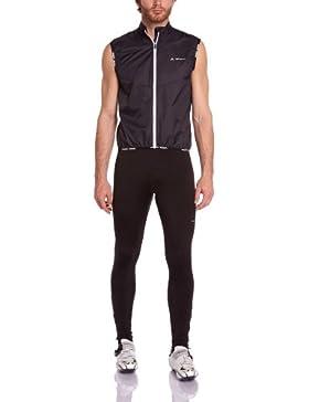 VAUDE - Chaleco de ciclismo para hombre, tamaño S, color negro (black)