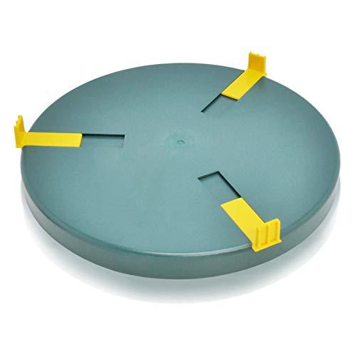 VOSS Heizplatte für Tränkenwärmer Tränkenheizung, 30cm, inkl. Netzteil 24V/ 28W