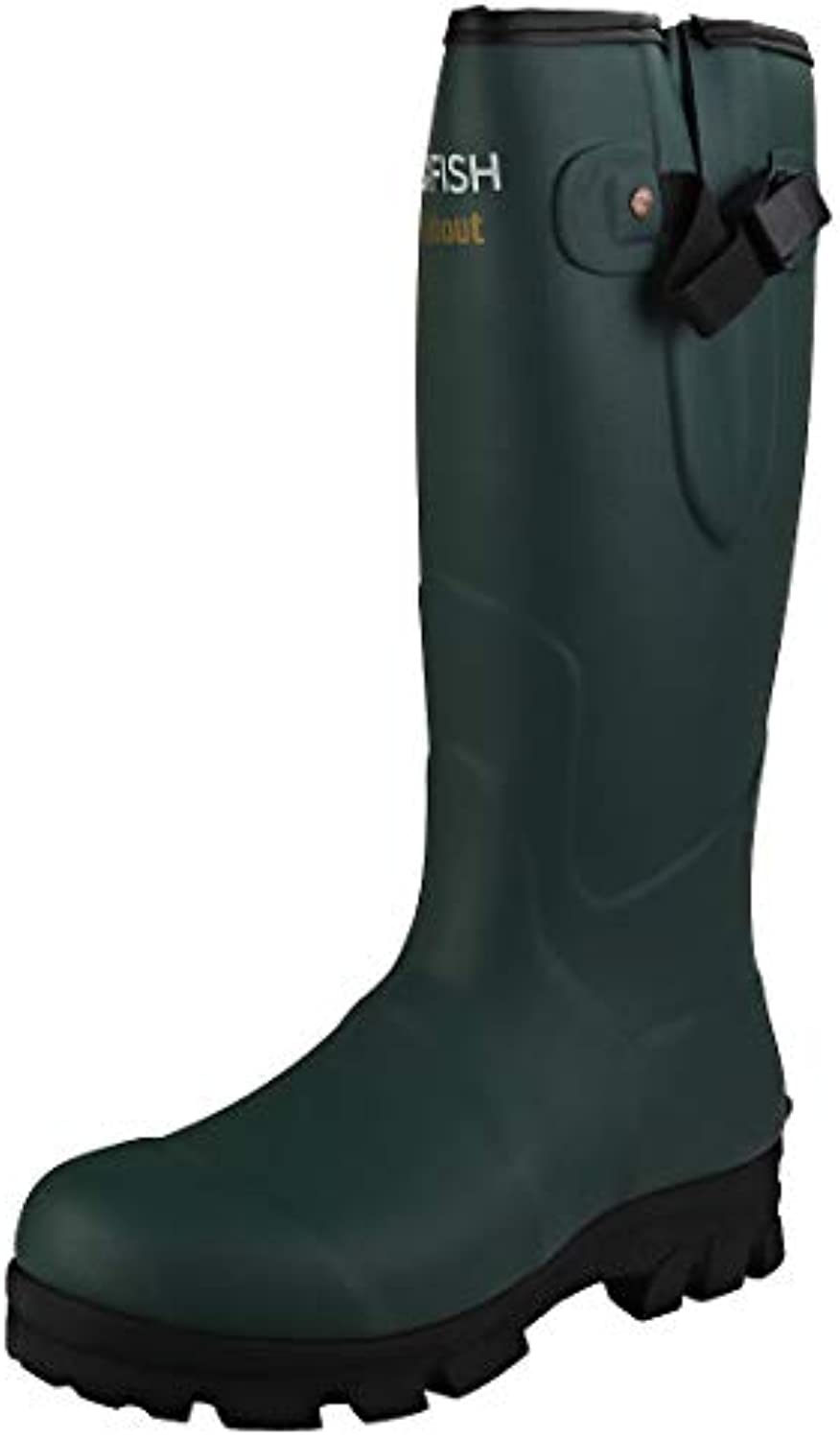 Rockfish Award Winning, Men's Wellies, Walkabout, Neoprene Lining for Extra Extra Extra Warmth And Comfort, Natural Rubber... | Design lussureggiante  fc9fc6
