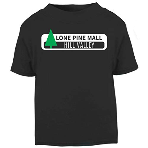 Back to The Future Lone Pine Mall Sign Baby and Toddler Short Sleeve T-Shirt (Doc Brown Kostüm Baby)