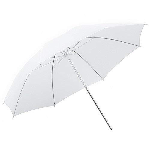 """Phot-R Profesional 50.8cm / 20 """"translúcido / blanco suave luz reflectante Flash de estudio Fotografía Paraguas plegable Disfuso"""