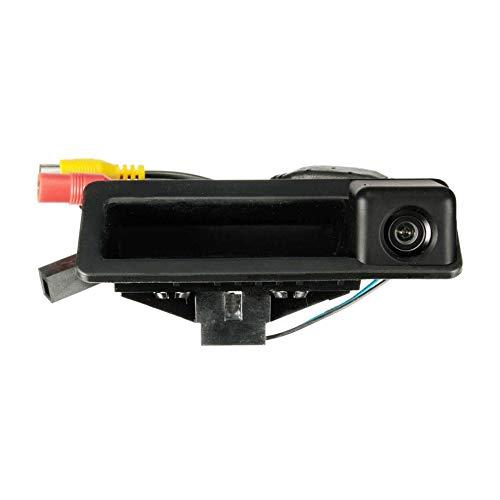WEIWEITOE-DE wasserdichte 170-Grad-Rückfahrkamera CMOS-Sensor CCD HD-Kamera für BMW E39 E46 1/3/5 Serie E60 E82 E90, schwarz,