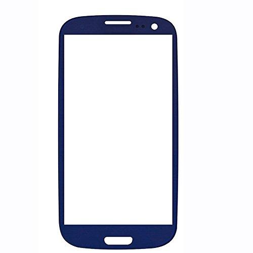 splay Hoch Geeignet für Ersatz Original Samsung Galaxy GT i9300 S3 III (Blau) LCD Touch Screen Front Glas mit Werkzeugsatz. ()