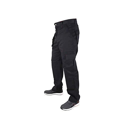 Lee Cooper Men's Cargo Trouser – schwarz -30W/29S - 7