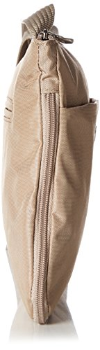Bogner LeatherSOLE M - Borsa a tracolla Donna Beige (Beige (macadamia 362))