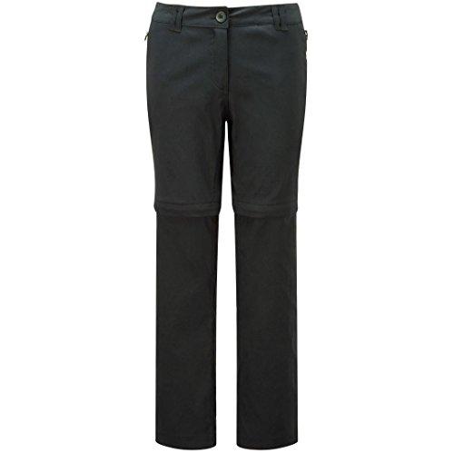Craghoppers Kiwi Pro-stretch Pantalon convertible pour femme Noir
