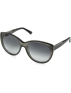 Calvin Klein - Occhiali da sole CK7900 Wayfarer, 001 Black & Grey