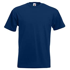 Fruit of the Loom Heavy Cotton T-Shirt - Navy XL