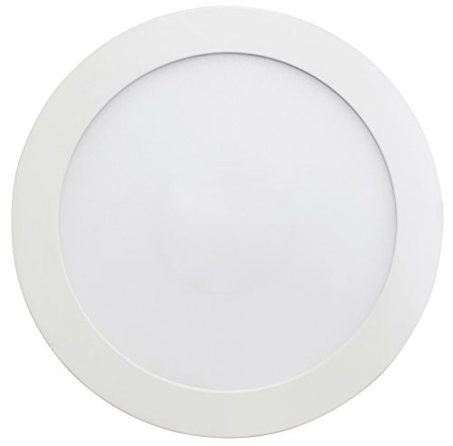 SevenOn LED 64525 Lampe LED SMD extra-plate ronde 16 W 120° 1 400 lumens 4 000 K Blanc neutre IP20 Intensité non variable.