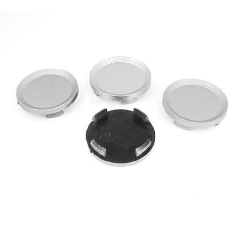60mm Diameter Truck Car Hood Emblem Wheel Center Hub Caps Covers 4Pcs