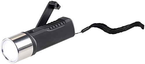 Lunartec Taschenlampe mit Kurbel: Dynamo-LED-Taschenlampe, 80 Lumen, 1 Watt, auch per USB ladbar (Taschenlampe zum Kurbeln)