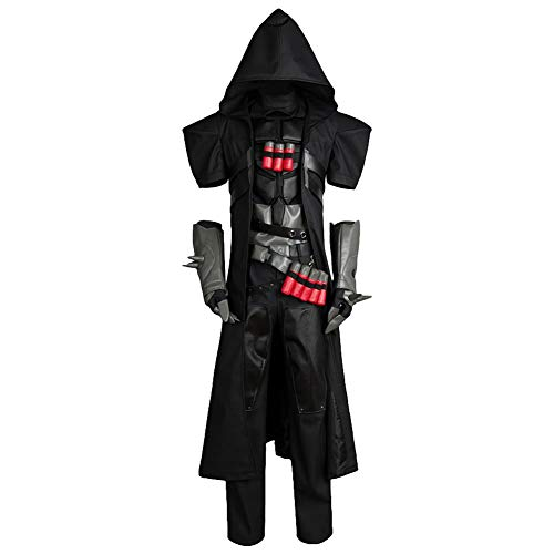 Cosplay Kostüm Tod Herr - MingoTor Gevatter Tod Outfit Cosplay Kostüm Herren S