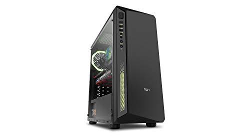 Nox Infinity Atom -  NXINFTYATOM - Caja PC, RGB, Color Negro